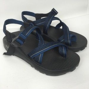 CHACO Sz 8 Blue Men's Sport Sandals